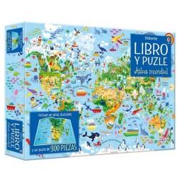 LIBRO PUZZLE ATLAS MUNDIAL